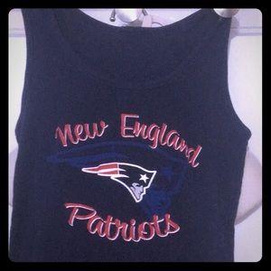 RARE VTG New England Patriots Rib Tank